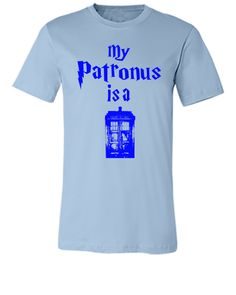 my patronus is tardis - Unisex T-shirt