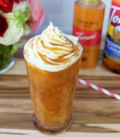 In a tall glass, combine almond milk and Torani Syrup. Stir until well incorporated. Add ice and pour coffee over the top. Garnish, stir and enjoy!