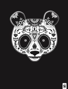 Illustrations Of Endangered Species Drawn With 'Day Of The Dead' Motifs