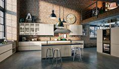 New Kitchen Trend:  A rustic industrial kitchen Snaidero, kitchen Frame