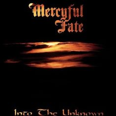 Mercyful Fate - Into the Unknown Limited Edition Colored Vinyl LP October 28 2016 Pre-order