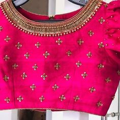 Blouse Designs High Neck, Blouse Designs Catalogue, Wedding Saree Blouse Designs, Pattu Saree Blouse Designs, Simple Blouse Designs, Stylish Blouse Design, Fancy Blouse Designs, Lehenga, Sarees