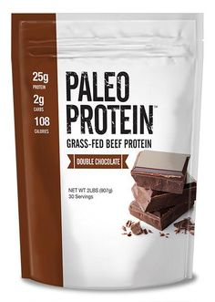Our Paleo Protein Powder Double Chocolate Is the best tasting protein powder you have ever had. Our 2lbs container is soy free, gluten free (made in a dedi