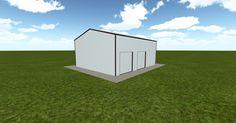 3D #architecture via @themuellerinc http://ift.tt/2rcCfa0 #barn #workshop #greenhouse #garage #DIY