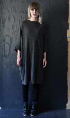 Dress by Sanna Hopiavuori Dress Up, High Neck Dress, Shiloh, Sustainable Fashion, Must Haves, Tunic Tops, Street Style, Sewing, Fashion Trends