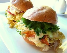 How To Make Omelette Burgers Breakfast Recipes