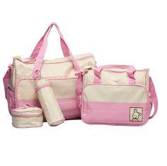 MANGO-Set 5 kits Bolso/Bolsa/Bolsillo Maternal Bebé para carro carrito biberón colchoneta comida pañal