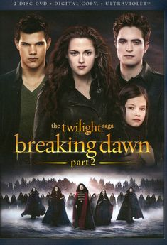 The Twilight Saga: Breaking Dawn - Part 2 [2 Discs] (DVD) (Enhanced Widescreen for 16x9 TV) (English/Spanish) 2012 - Larger Front