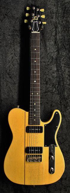 b3 Pheonix with P-90s in TV Yellow http://www.coda-music.com/pheonix-p90s-yellow-p-17538.html
