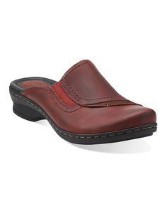 Take a look at this Burgundy Ideo Hay Mule - Women on zulily today!