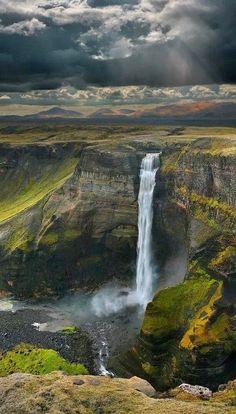 Beauty Of NatuRe: Haifoss Falls, Icelanἰ❤Thἱs ☞d
