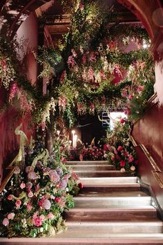 "Taking root on Sketch's staircase through the green fingers behind By Appointment Only Design, the second exhibit, ""Midnight into Titania's Garden,"" evoked the romanticism of Victorian fairy paintings and conjured up the ultimate fairy queen: Shakespeare's Titania. 