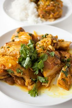 Coconut Curry Chicken mmm I want that for lunch!!