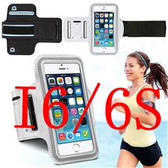 Running Case for iPhone 5 5C 5S 6 6S /6S PLUS Cover Gym Arm Band Nylon Sport Cover Holder Bag For Apple SE 4.7 5.5 Phone Cases