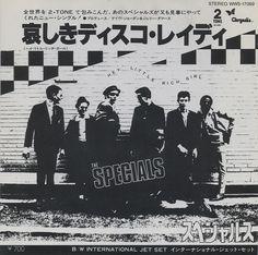 "The Specials - Hey Little Rich Girl [1980, Chrysalis WWS-17069│Japan] - 7""/45 vinyl record [SKA]"