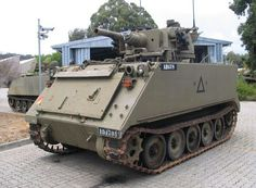 Australian M113 with Saladin turret