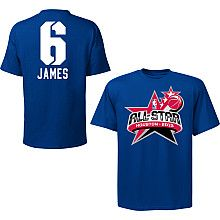 NBA Exclusive Collection 2013 NBA Eastern Conference All Star LeBron James T-Shirt