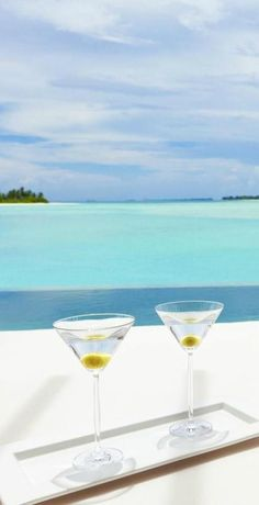Cocktails for two in Niyama, Maldives http://www.vhiphotels.co.uk/hotels/maldives/maldives/niyama/