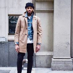 http://chicerman.com  billy-george:  Layers yo  #streetstyleformen