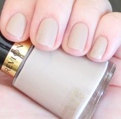 Revlon Elegant - My #2 Nude polish (a bit lighter than Gray Suede)