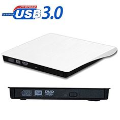 External DVD DriveUSB 30 Ultra Portable External CD DVD Storage Drive External DVD Writer Burner CD DVD RW DVD ROM Drive for Apple Macbook Macbook Pro or other LaptopDesktops WIN10 Aooking Tech ** Read more reviews of the product by visiting the link on the image.