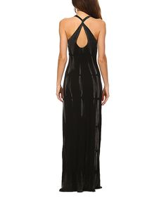 Take a look at this Urban X Black Tie-Dye Maxi Dress today!