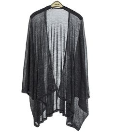 Look at this #zulilyfind! Black Shimmer Kimono by SUE & KRIS #zulilyfinds