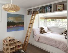 PERFECT bumpout for small bedroom in our house. Love how the window is higher for privacy!