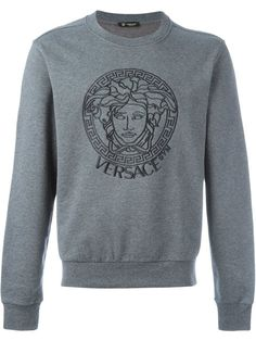 VERSACE 'Versace Gym' Sweatshirt. #versace #cloth #sweatshirt