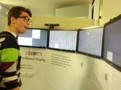 Perifoveal Display ini adalah penemuan baru 4 layar yg memudahkan kita memonitor data. #SMARTtechno