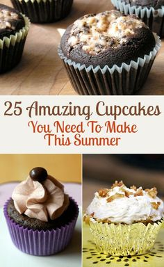 25 Amazing Cupcakes You Need To Make This Summer
