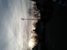 Stadium Langeleegte, Veendam. With my left arm.