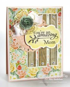ISSC12 - Amazing Mom by Coconutmuffn - Cards and Paper Crafts at Splitcoaststampers