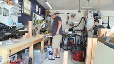 Our DIY Rust-Oleum RockSolid Garage Floor – Love & Renovations Painting Laminate Furniture, Painting Tile Floors, Wooden Welcome Signs, Custom Wood Signs, Patching Holes In Walls, Diy Paver, Garage Door Maintenance, Plywood Subfloor, Diy Fireplace Mantel