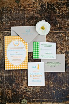 invites to a pretty picnic wedding  Photography by megperotti.com, invitations by http://theaerialistpress.com/