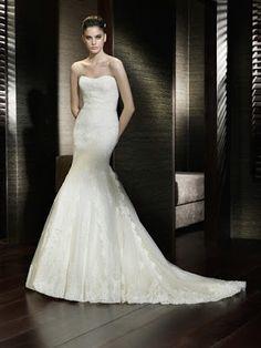 Vestidos de novia estilo sirena ¡Maravillosas Tendencias en Outfits! - Somos Novias