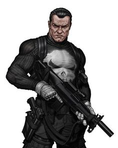 """4,140 Likes, 8 Comments - Antman616 (@rogue_comics_) on Instagram: """"Art: <Walter O'Neil> #punisher#marvel"""""""