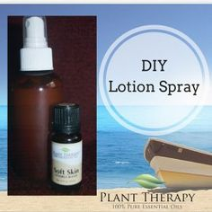 I initially wanted to make this for day trips to the beach since the salt water dries my skin out so much. However after using it twice it's now my go to lotion for all over my body! Diy Lotion, Lotion Bars, Hand Lotion, Plant Therapy Essential Oils, Lotion Recipe, Body Lotions, Skin So Soft, Natural Skin, Water Spray
