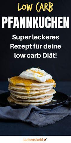 Rezept: Low carb Pfannkuchen mit Haselnüssen – Low carb Rezepte – Recipe: Low carb pancakes with hazelnuts – Low carb recipes – # Hazelnuts Lactose Free Recipes, Low Carb Recipes, Healthy Recipes, Victorian Cakes, Best Pancake Recipe, Pancake Recipes, Low Carb Pancakes, Homemade Pancakes, Sweet Chili