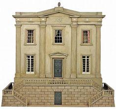 wunderhome: THE MODEL HOUSE: English Regency Doll House