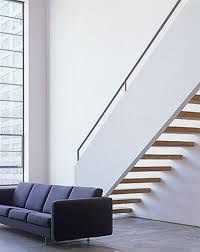 Image result for short run cantilevered staircase