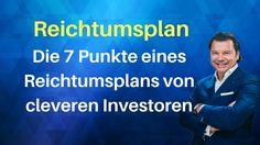 Reich werden mit Immobilien & das mit 7 Regeln! Immobilienvermögen aufba... Planer, Content, Videos, Music, Youtube, Become Rich, Wealth, Real Estates, Musica