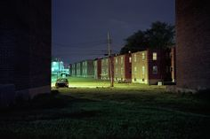 """""""I like capturing what's hidden and also what's fragile,"""" Baltimore photographer Patrick Joust says of shooting the city at night. The Baltimore in his pictures is the secret Baltimore, the Baltimore that only reveals itself after long walks in the dark. While Joust does indeed shoot the city during the day, the nighttime comes with …"""