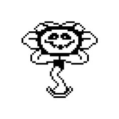 Flowey angry ❤ liked on Polyvore featuring fillers and undertale