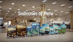 En esta ingeniosa campaña turística la #publicidad viaja (gratis) a bordo de maletas