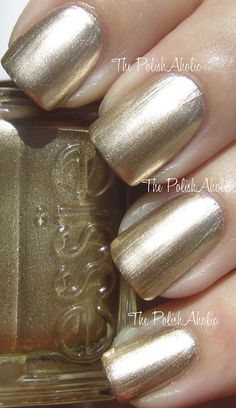Essie Good as Gold.