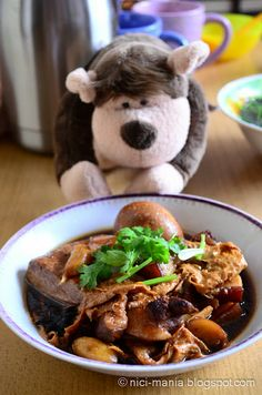 Braised Pork Belly with Fried Bean Curd Sheet recipe