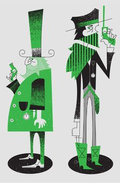 Duel by Bandito Design Co (from ffffound via Eight Hour Day) #duel #BanditoDesignCo #green