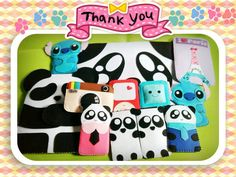 http://www.amazon.com/dp/B007FMC8I8/?tag=googoo0f-20 . Cute Panda Felt Case Pouch/ Made to Order/ by MomsterCraft on Etsy ✿