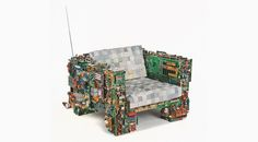 'binary collection' furniture by benjamin rollins caldwell / BRC designs at design miami
